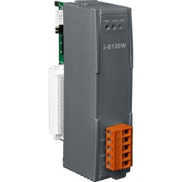 Module with one programmable CAN port, WinPAC Series MCU CAN port library, 80186 80MHz CPU, 8 KB DPRAM, 512 KB flash, 512 KB SRAM, 120 Ω terminal resister selected by switch
