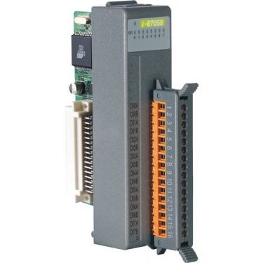 8-channel 80 VAC ~ 250 VAC Isolated Digital Input Module with 16-bit Counters