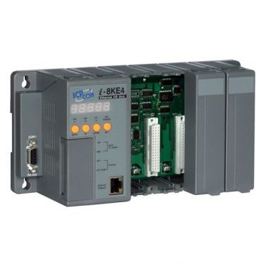 Embedded Ethernet I/O Unit with 4 slots