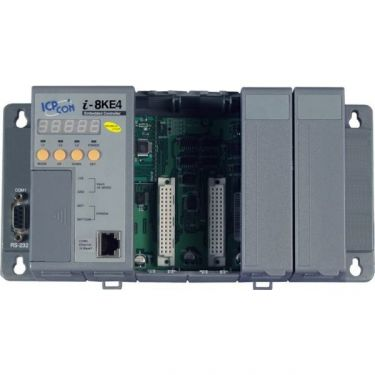 Modbus/TCP I/O Unit with 4 slots