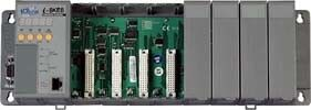 Modbus/TCP I/O Unit with 8 slots