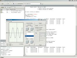 Software Environment for Data Acquisition, Data Analysis, and Application Development