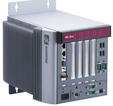 4-slot Fanless System with Socket G2 Intel® Core™ i7/ i5/ i3 Processor up to 2.5 GHz, Intel® HM65 PCH, PCIe and PCI Slots