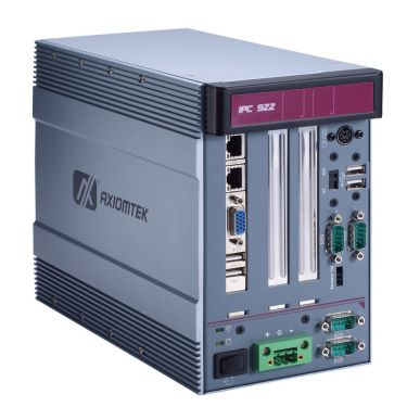 IPC922-215-FL 2-slot Fanless Industrial System with Intel® Celeron® Processor J1900 (up to 2.42 GHz), and Front-access I/O and PCIe/PCI Slots