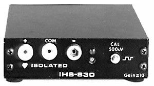 Isolated Amplifier Head Stage