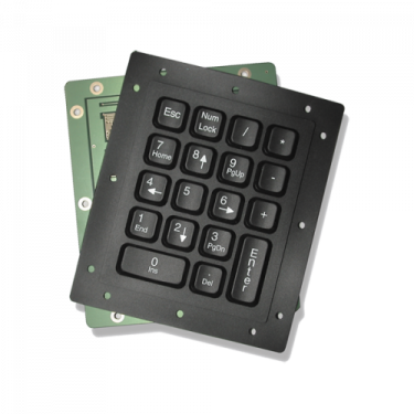 Industrial Silicone Rubber Numeric Keypad