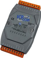 8-channel 80-250VAC Isolated Digital Input Module with 16-bit Counters and LED Display (Gray Cover)