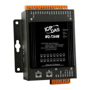 MQTT I/O Module with 8-ch DI, 8-ch DO