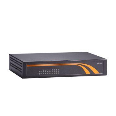 Axiomtek NA345 Desktop Network Appliance Platform with Intel® Pentium® Processor N4200/Celeron® Processor N3350 and 4 LANs