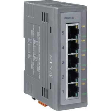 Unmanaged 5-Port Industrial Ethernet Switch