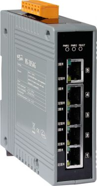 NS-205AG Unmanaged 5-Port Industrial 10/100/1000 Base-T Ethernet Switch