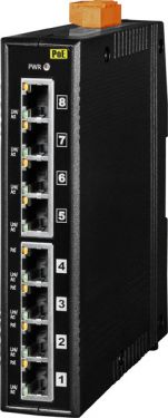 8-Port Industrial 10/100 Mbps Ethernet with 4-PoE  (PSE) Switch