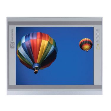 """P6151PR-AC-U-V3 (P/N-E226151116) 15"""" industrial monitor with resistive touch screen (USB interface), AC version"""
