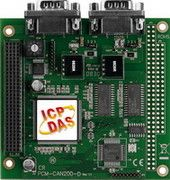 1-Port Isolated Protection CAN Communication PCI-104 Module with 9-pin F/M D-subconnector