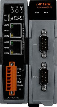 Programmable Device Server with 1 Expansion Slot (RoHS)  Includes One CA-0910 Cable.