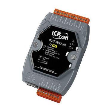 PET-7017-10 CR PoE Ethernet I/O Module with 10/20-ch AI (RoHS)