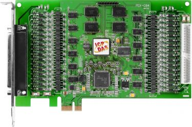 PCI Express/Universal PCI, 64-channel Optically Isolated Open-collector Digital Output Board (Current Sinking)