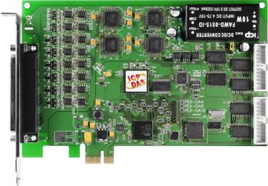 PCI Express/Universal PCI, 14-bit, 4-/8-/16-channel Analog Output Boards