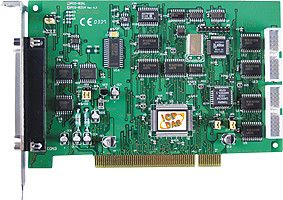45 kS/s Low gain 12-bit,16-channel input, 1-channel D/A, Digital I/O board