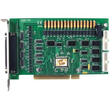 Universal PCI, 32-channel Isolated Digital I/O and 32-channel TTL-level Digital I/O(Current Sinking, PNP type)