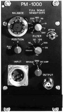High Performance Transducer Amplifier