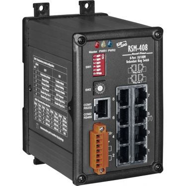RSM-408 CR 8-Port Redundant Ring Switch with metal case (RoHS)