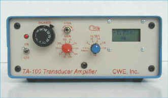 Compact and versatile amplifier with digital readout