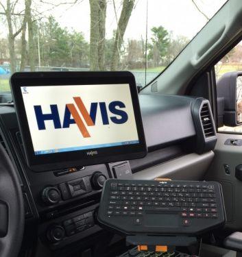 Havis TSD101 Rugged Vehicle Touch Display