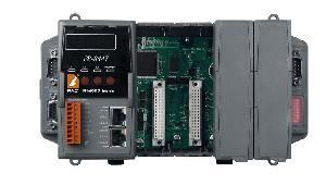 8 slots Faster CPU (80 MHz) Dual Ethernet ISaGRAF PAC