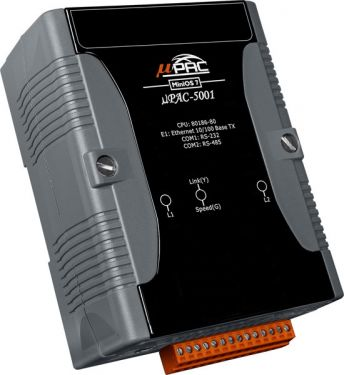 μPAC-5000 with LAN and ZigBee (Full Function Device) and 256 MB Flash