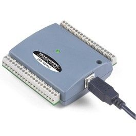 USB-based 24-channel, high-current (64 mA sink, 15 mA source) digital I/O device