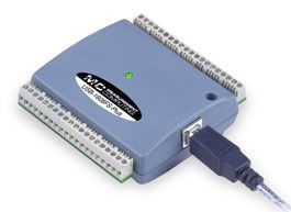 16-Bit, 400 kS/s, Multifunction DAQ Device with 8 SE Simultaneous Analog Inputs