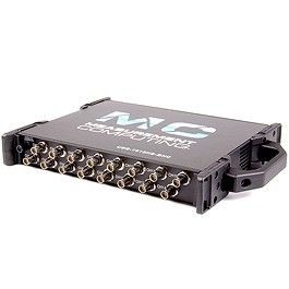 USB-based 16-bit, 1 MS/s multifunction device with 16 differential, 16-bit analog BNC inputs, multiple ranges, 16 digital I/O, 4 counter inputs, and 2 timer outputs