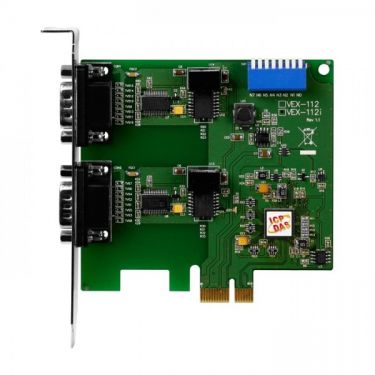 PCI Express, Serial Communication Board with 2 Isolated RS-232 ports - VEX-112i