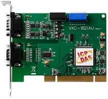 Universal PCI Bus, Serial Communication Board with 1 Isolated RS-422/485 port and 1 RS-232 port (RoHS)