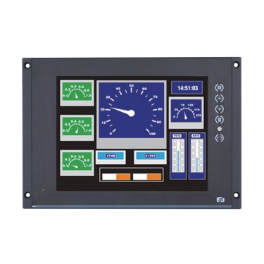 """Transportation Touch Display P6105 - 10.4"""" XGA Transportation Touch Display with EN50155 T1 Class (-25°C ~ +55°C)"""