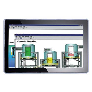"P6217W Axiomtek 21.5"" FULL HD TFT Widescreen Industrial LCD Monitor"
