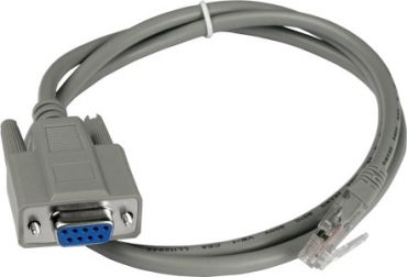 9-pin Female D-sub & RJ-45 cable, 1M Cable for RS-405/RSM-405