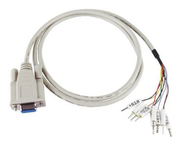 9-pin Female D-sub cable for RS-422 Connector, 1 M