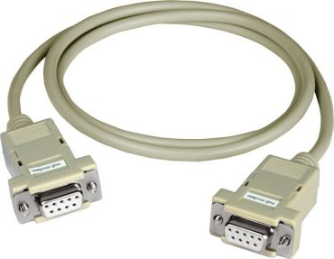9-pin Female-Female D-sub cable, 1M Null Modem Cable for WinCon