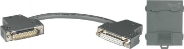 25F-25M 15 cm Cable with DIN-Rail Mount of DB-1820