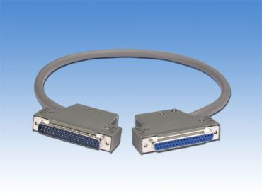 DN-37 Male-Female D-sub cable 0.5M for Daughter Board For I-8040/8041/I-8042/I-87040/I-87041