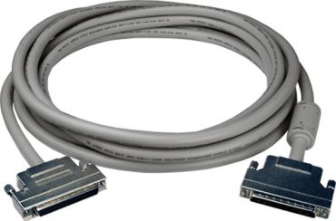 SCSI II 68-pin & 68-pin Male connector cable for High speed (output pulse>500K pps), Length 5m