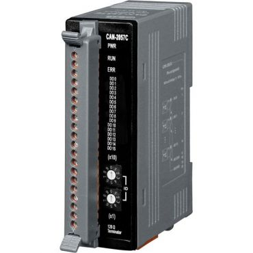CANopen Slave Module of 16-Channel Isolated Open-collector Digital Output