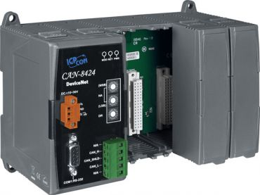 DeviceNet Embedded Device with 4 I/O Expansions