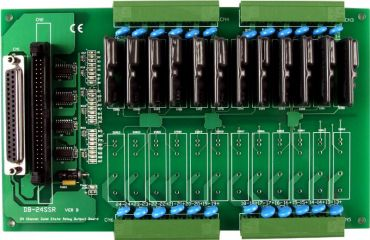 12-channel Solid State Relay Output Board
