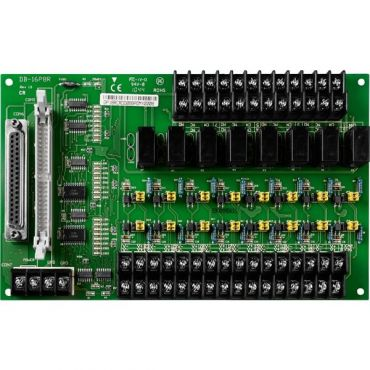 16-channel Isolated Input & 8-channel relay output Board