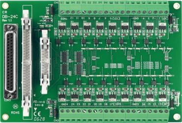 24-channel OPTO-22 compatible Open-collector output Board