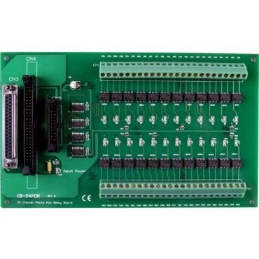 24-channel Photo-Mos Relay Output Board