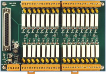 32-channel Relay Output Board